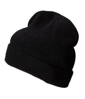 Вязаная шапка с отворотом 7112-36-В995  Myrtle Beach