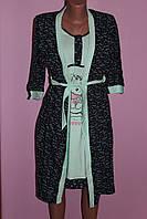 "Комплект ночная рубашка + халат ""Puffy"", фото 1"