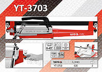 Плиткорез ручной со скользящим ползунком и 1-м направляющим L= 630мм.,  YATO  YT-3703