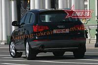 """Защита задняя """"труба"""" d 42 Союз 96 на Audi Q7 2007"""