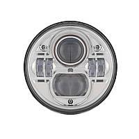 Фара мото LED 7 дюймів DL-J053 (Chrome)  Нива, УАЗ 469, ГАЗ 24, ВАЗ 2101, Хаммер, FJ Cruiser, w463, мото