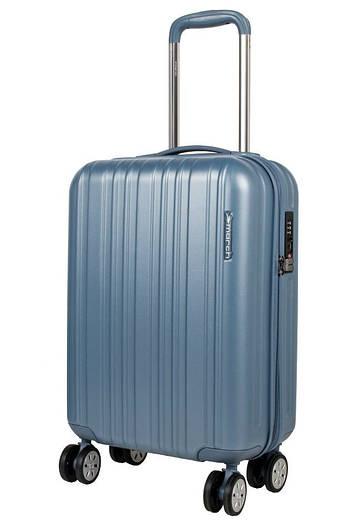 Маленький пластиковый чемодан на 4-х колесах March Omega