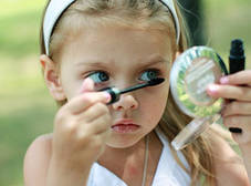 Детская косметика по уходу за лицом и телом