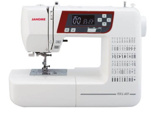 Швейная машинка Janome DXL603