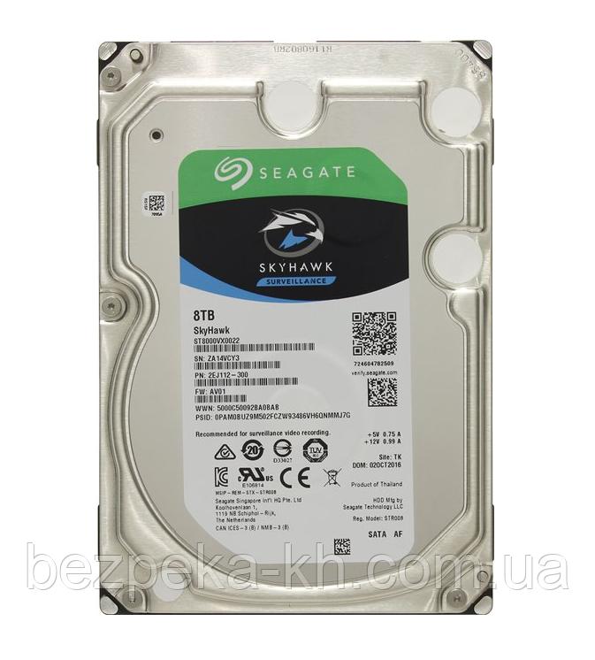 "Жесткий диск 3.5"" SATA 8Tb Seagate SkyHawk Surveillance ST8000VX0022"