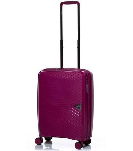 Маленький пластиковый чемодан на  4-х колесах March Gotthard