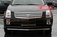 "Защита переднего бампера ""труба"" d 60 Союз 96 на Cadillac SRX 2007-2010"