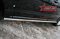 Пороги труба d 60 (компл. 2 шт) Союз 96 на Cadillac SRX 2007-2010