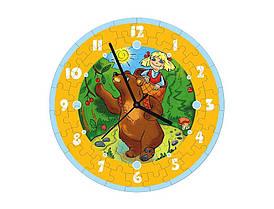 Пазл – часы Маша и медведь 61 эл.