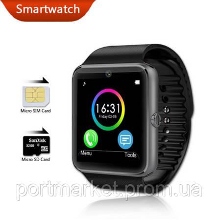 Умные часы Smart Watch GT08 Black  UWatch, Smart watch, умные часы,