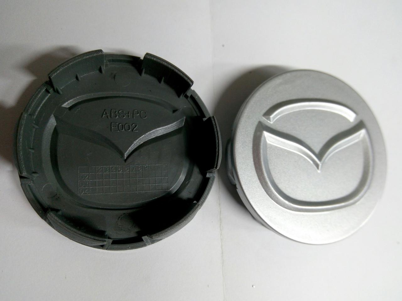 Комплект колпачков в колесные диски MAZDA 58 мм / 56 мм