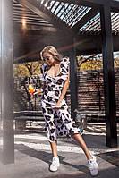 Летнее платье с оборкой по низу, фото 1