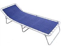 Раскладушка Standart-Retro 193х72 cм синяя, фото 1