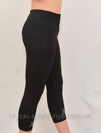 Бриджи женские трикотажные с узором, фото 2