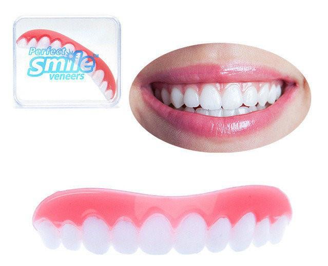 Белоснежные зубы виниры фото цена