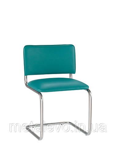 """Офисный стул для посетителей SYLWIA chrome  ТМ """" Новый стиль"""", фото 2"""