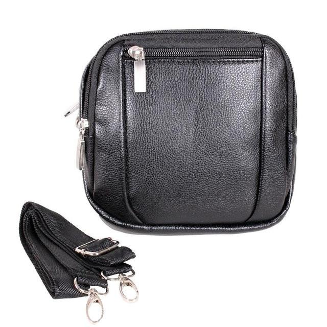 Мужская сумка из кожзаменителя 301459 черный