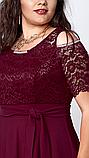 Платье мод 568-4, размер 50 бутылочное, фото 2