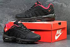 Кроссовки мужские Nike air max 95,черные, фото 2