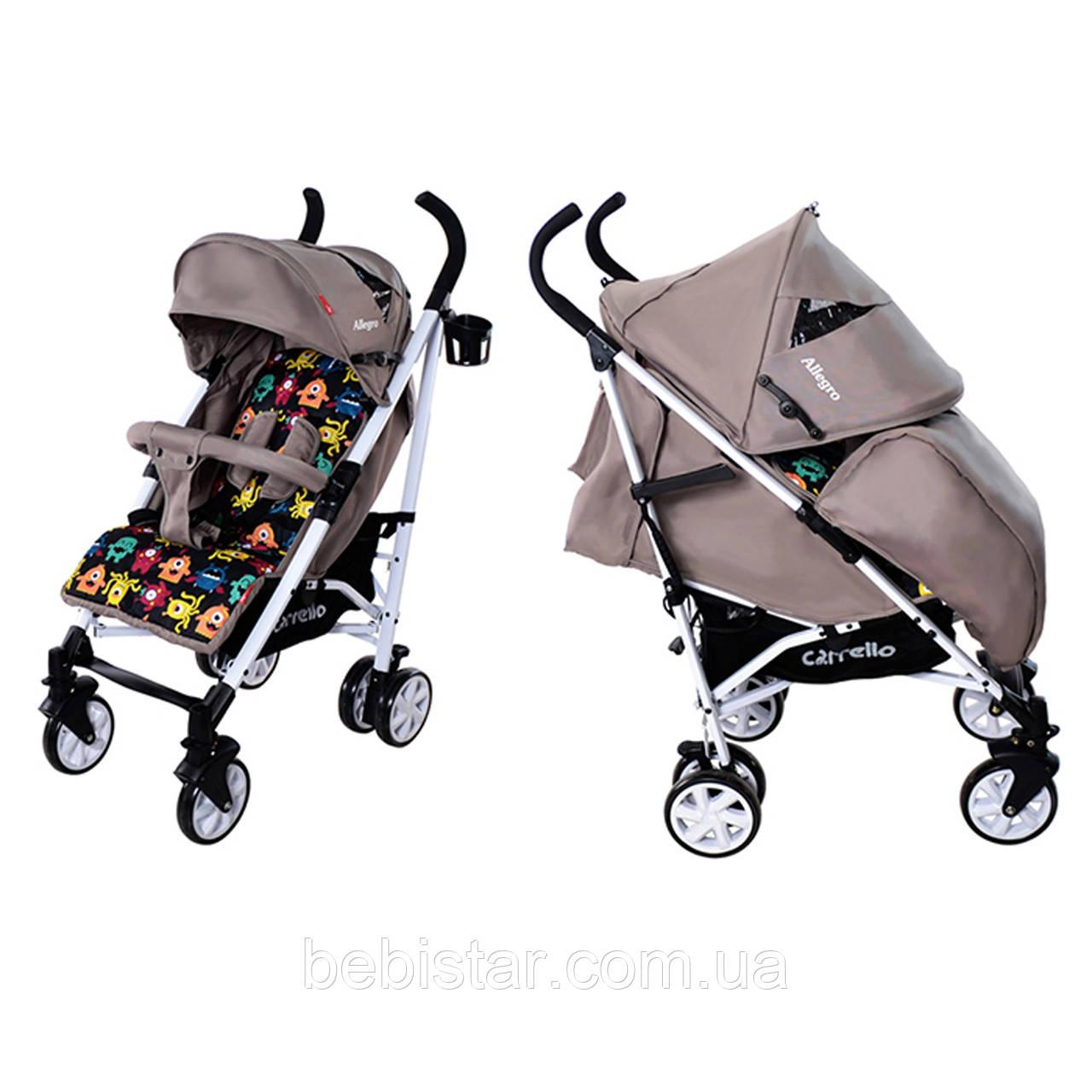 Дитяча коляска-тростина CARRELLO Allegro CRL-10101 Monster Beige