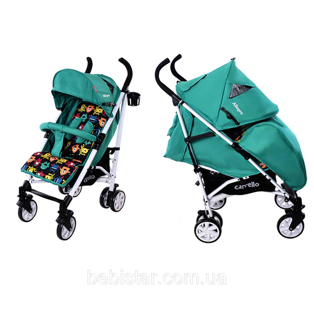 Детская коляска-трость CARRELLO Allegro CRL-10101 Green