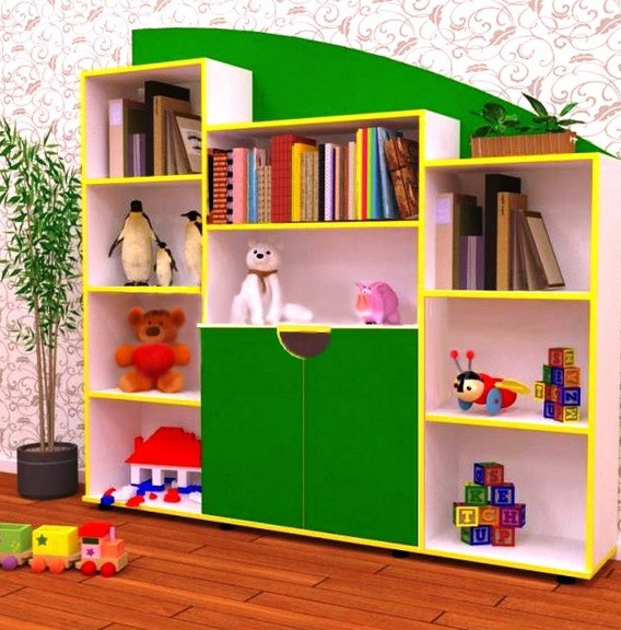 Стенка детская игровая для игрушек Design Service Анечка (546)