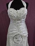 Свадебное платье рыбка белое, фото 2