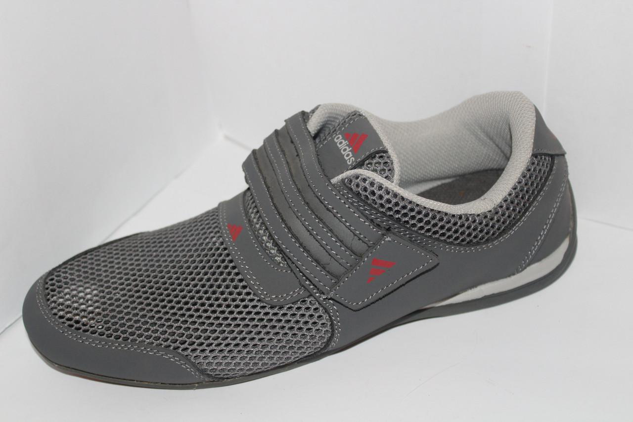 cbf3f20c Мужские кроссовки Adidas на липучке сетка для повседневной носки оригинал -  Фирменная обувь в Харьковской области