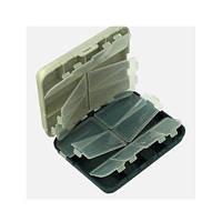 Коробка рыболовная двойная AQT-2416 16 отделений, 12*10*3.5см, ящик для хранения, корзина, ящик, коробки для хранения, коробки
