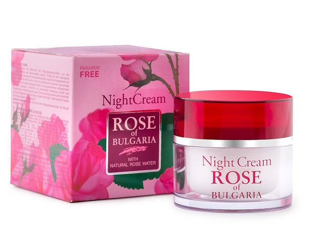 Крем для лица ночной Rose of Bulgaria от BioFresh 50 мл, фото 2