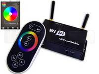 RGB контроллер Wi-Fi 5-24В, 3х4А радио с сенсорным пультом для светодиодной ленты, фото 1