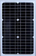 Солнечная панель, солнечная батарея Solar board 30W 18V 37*3.5*65