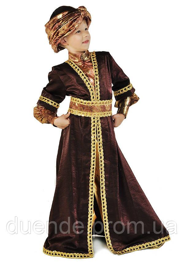 Восточный принц новогодний национальный костюм для мальчика / BL - ДН68