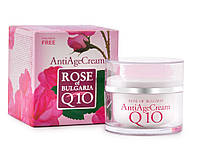 Антивозрастной крем для лица с коэнзим Q10 Rose of Bulgaria от BioFresh 50 мл