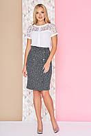 Офисная юбка-карандаш, фото 1