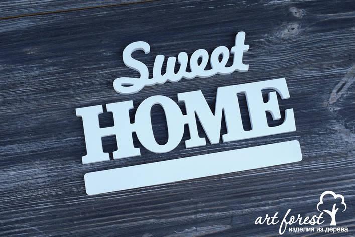 "Декор из дерева ""Sweet home"", фото 2"