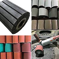 Шлифовальная лента 100x286 мм для резинового валика д. 90х100 мм - 3M Trizact 237AA