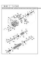 06 -20 БАГАТОПОТОЧНА КОРОБКА ПЕРЕДАЧ - ЗЧЕПЛЕННЯ І ГАЛЬМО СТОЯНКИ СИСТЕМИ РУЛЬОВОГО УПРАВЛІННЯ З МЕХАНІЧНИМ ПРИВОДОМ - многопоточная коробка передач –