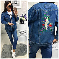 Джинсовая куртка женская First