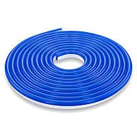 Гибкий неон 220В 2835 (120LED/м) IP65 синий