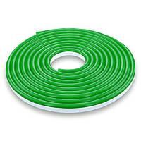 Гибкий неон 220В 2835 (120LED/м) IP65 зеленый