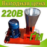 """Гранулятор """"ФЕРМЕР"""" с плоской матрицей 100мм (1,5кВт 220В)"""