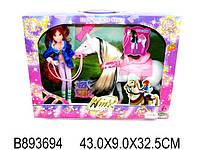 Игрушка для девочек кукла «Winx» с лошадкой и аксессуарами модель 827