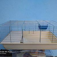 Клетка с домиком для кроликов и морских свинок, фото 1