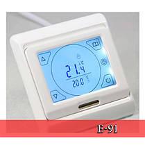Терморегулятор для теплого пола программируемый, фото 3
