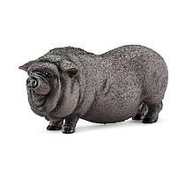 Игрушка - фигурка Вислобрюхая свинья
