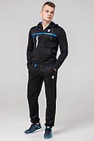 Мужской спортивный костюм брюки толстовка