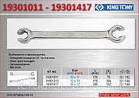 Ключ разрезной 14Х17 мм., KING TONY 19301417
