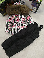 Раздельный зимний комбинезон пуховый Dolce & Gabbana