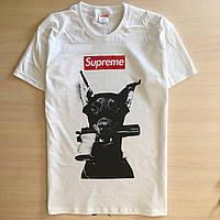 Оригинальные унисекс футболки Suprime принт Украина